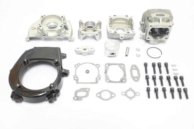 1/5 Baja 5B/5T/5SC 4 bolt 26cc bigbore Engine kits - set