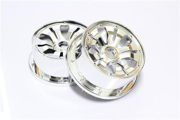1/5 scale baja 5B Chrome Poison Rim Front- 2pcs/set - 66042-1
