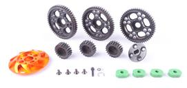 1/5 BAJA 5B/5T/5SC GEAR RATIO (17T/18T/19T : 57T/56T/55T) - SET 66092