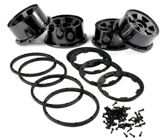1/5 hpi baja 5B Front & Rear wheel hub - 4pcs/set - 85081