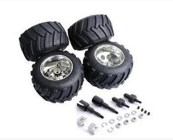 1/5 hpi baja 5B Front & Rear Big foot wheels and tires 4pcs/set - 850911