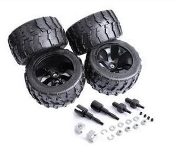 1/5 hpi baja 5B Front & Rear Big foot wheels and tires 4pcs/set - 850912