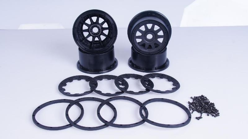 1/5 hpi baja 5B Front & Rear wheel hub - 4pcs/set - 85158