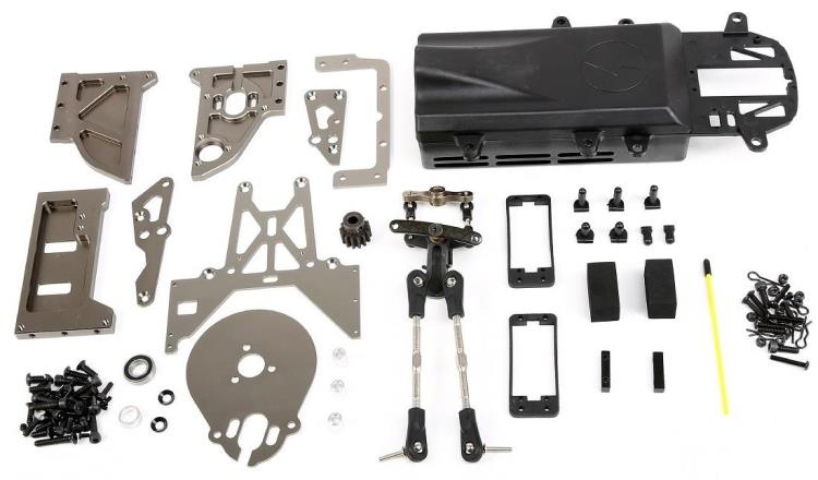1/5 Baja e-baja conversion kit without eletronic parts (from gas baja to electric baja) - set 851923