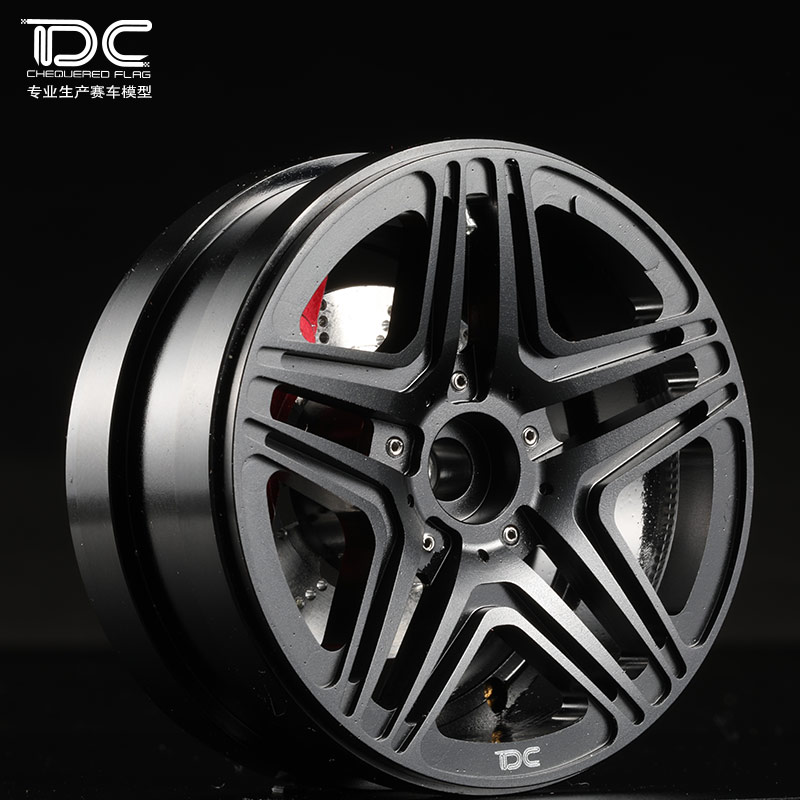 1/10 RC CRAWLER 2.2 INCH ALLOY WHEEL HUB (G63 TYPE) - 2PCS/PAIR - 90056