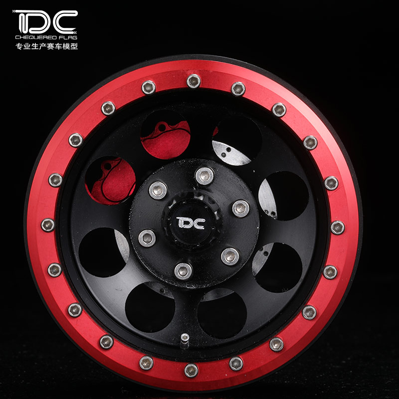 1/10 RC CRAWLER 2.2 INCH ALLOY WHEEL HUB (MIT TYPE) - 2PCS/PAIR - 90107