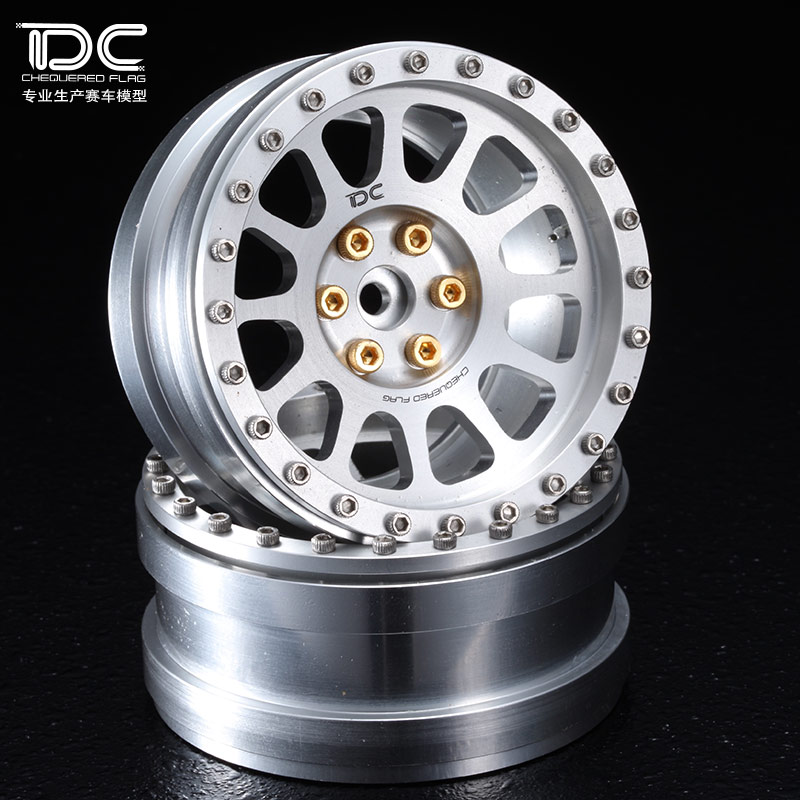 1/10 RC CRAWER 1.9 INCH ALLOY WHEEL HUB (SD TYPE) -2PCS/PAIR - 90145