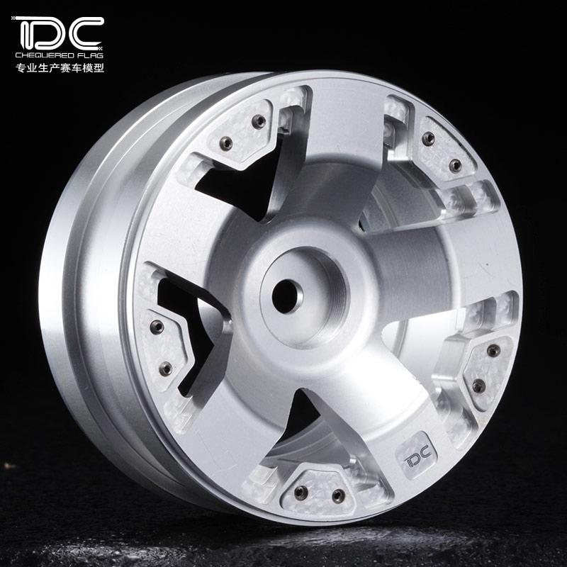 1/10 RC CRAWER 1.9 INCH ALLOY WHEEL HUB -2PCS/PAIR - 90173