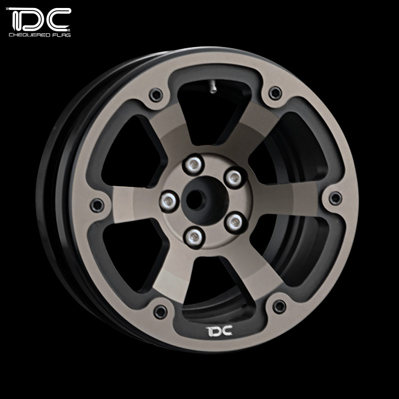 1/10 RC CRAWLER 2.2 INCH ALLOY WHEEL HUB (Dichromatic TYPE) - 2PCS/PAIR - 90445