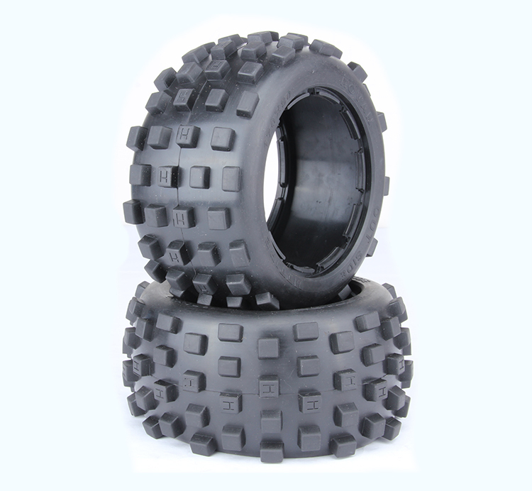 1/5 hpi baja 5B badland tires 2pcs/pair - Rear - 95002