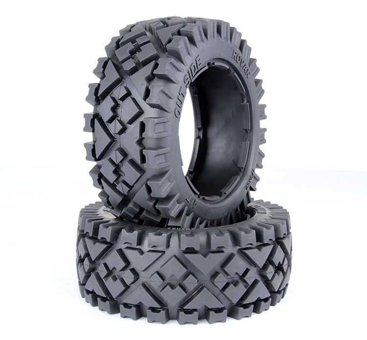 1/5 hpi baja 5B all terrain tires - 2pcs/pair - Front - 95115