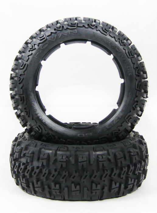 1/5 hpi baja 5B Badland tires Version III - front - 2pcs/pair - 95190