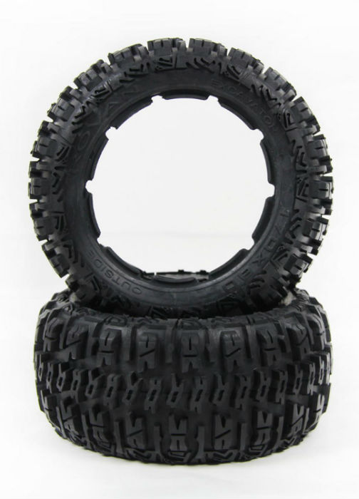 1/5 hpi baja 5B Badland tires Version III - Rear - 2pcs/pair - 95191