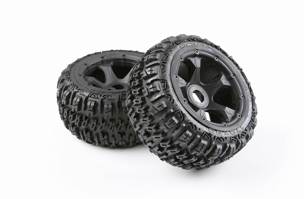 1/5 hpi baja 5B Badland wheels & tires Version III - rear - 2pcs/pair - 95192
