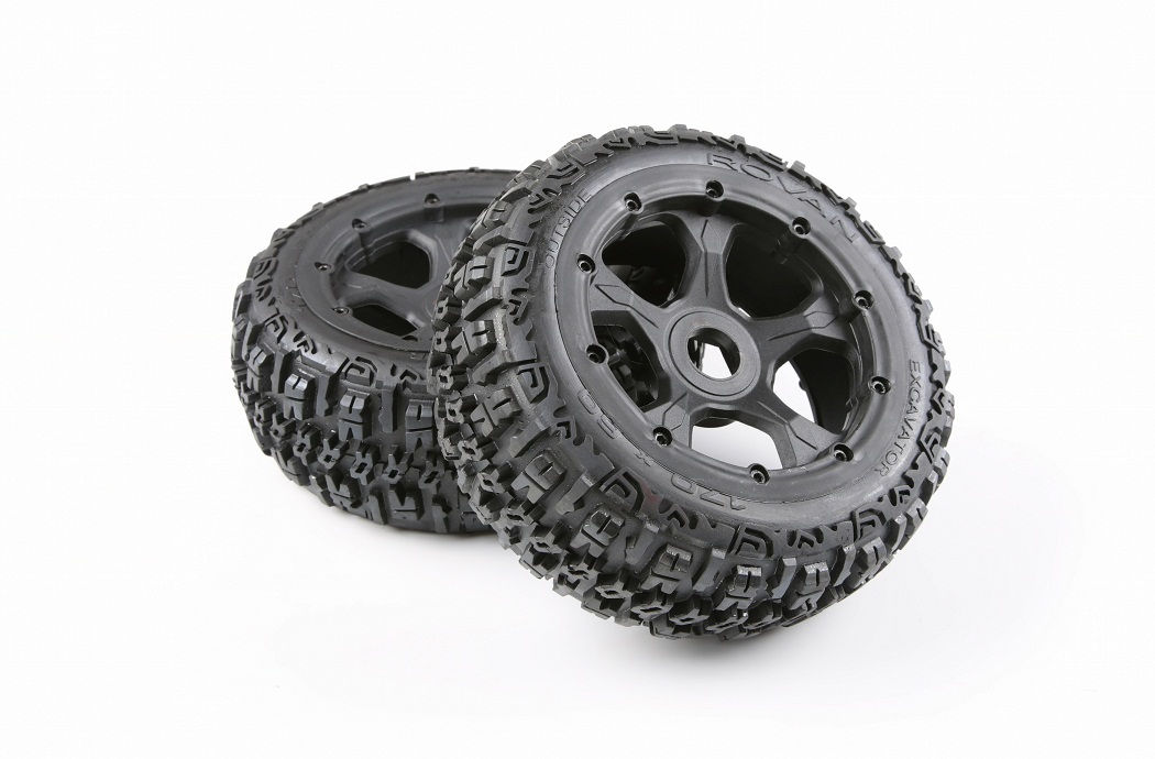 1/5 hpi baja 5B Badland wheels & tires Version III - front - 2pcs/pair - 95193