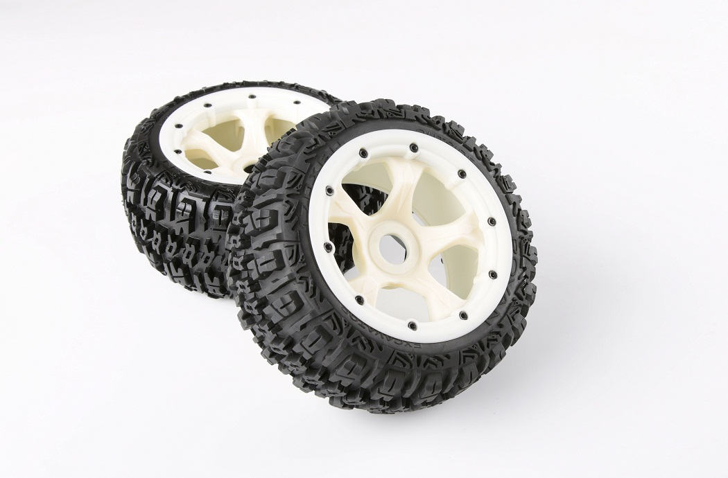 1/5 hpi baja 5B Badland Nylon wheels & tires Version III - rear - 2pcs/pair - 95195
