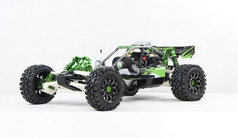 1/5 scale 32cc 4 bolt engine 2WD gas powered RC Baja 5B RTR with metal wheel hub - Baja 320AG (2015)