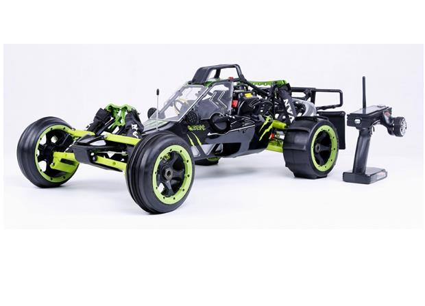 1/5 scale 32cc 4 bolt engine with NGK & Walbro carb. 813 2WD gas powered RC Baja 5B RTR Baja 320AS (2017)
