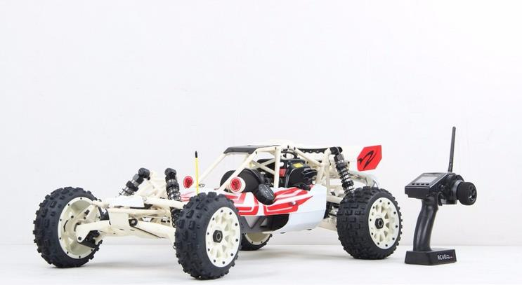 1/5 scale 29cc 4 bolt engine with NGK & Walbro carb. 2WD gas powered RC Nylon Baja 5B RTR Baja 290C (2015)