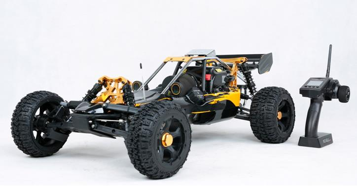 1/5 scale 30.5cc 4 bolt engine with NGK & Walbro carb. 2WD gas powered RC Baja 5B RTR Baja 305AG (2015)
