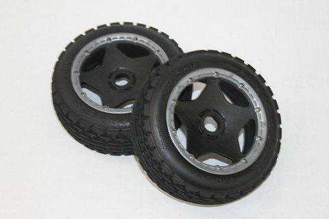 1/5 scale Baja 5B Dirt Tire completed set (Front) 2pcs/pair