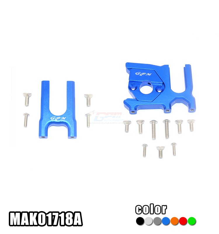 ALUMINUM CENTER DIFFERENTIAL (FRONT+REAR)+MOTOR MOUNT -SET MAK01718A FOR ARRMA 2019 KRATON/TYPHON/TALION/NOTORIOUS
