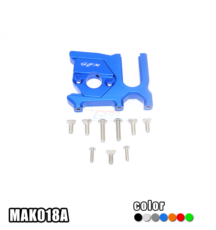ALUMINUM CENTER DIFFERENTIAL (REAR) + MOTOR MOUNT set MAK018A FOR ARRMA 1/8 RC TALION 4WD 6S BLX SPEED TRUGGY ARA10648