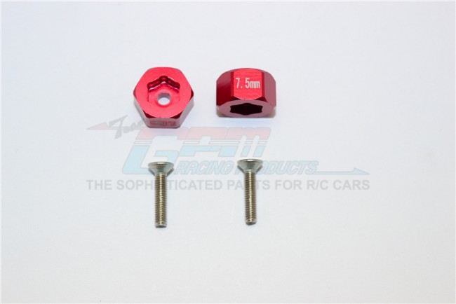1/18 AXIAL YETI JR AX90052 ALUMINIUM ALLOY FRONT HEX ADAPTERS - set MYT010/7.5