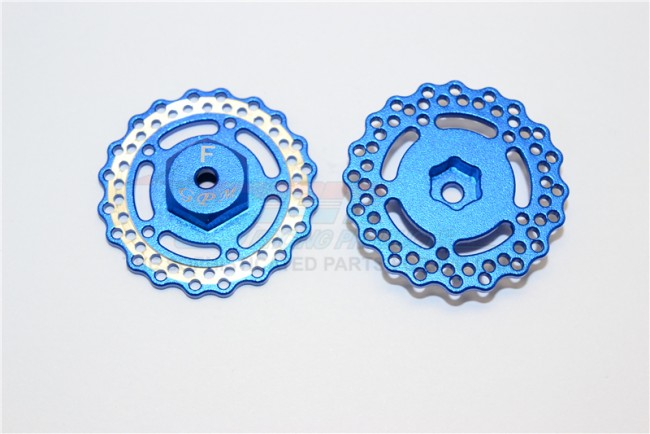 1/18 AXIAL YETI JR AX90052 ALUMINIUM ALLOY FRONT WHEEL HEX WITH BRAKE DISK-2PCS - MYT010AF/D