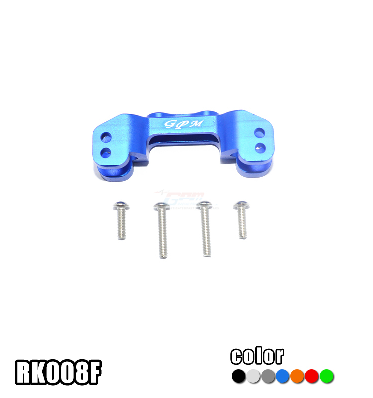1/10 Scale Losi Rock Rey ALLOY FRONT UPPER MOUNT FOR UPPER ARM LINKS - set RK008F MIRACLEHOBBY