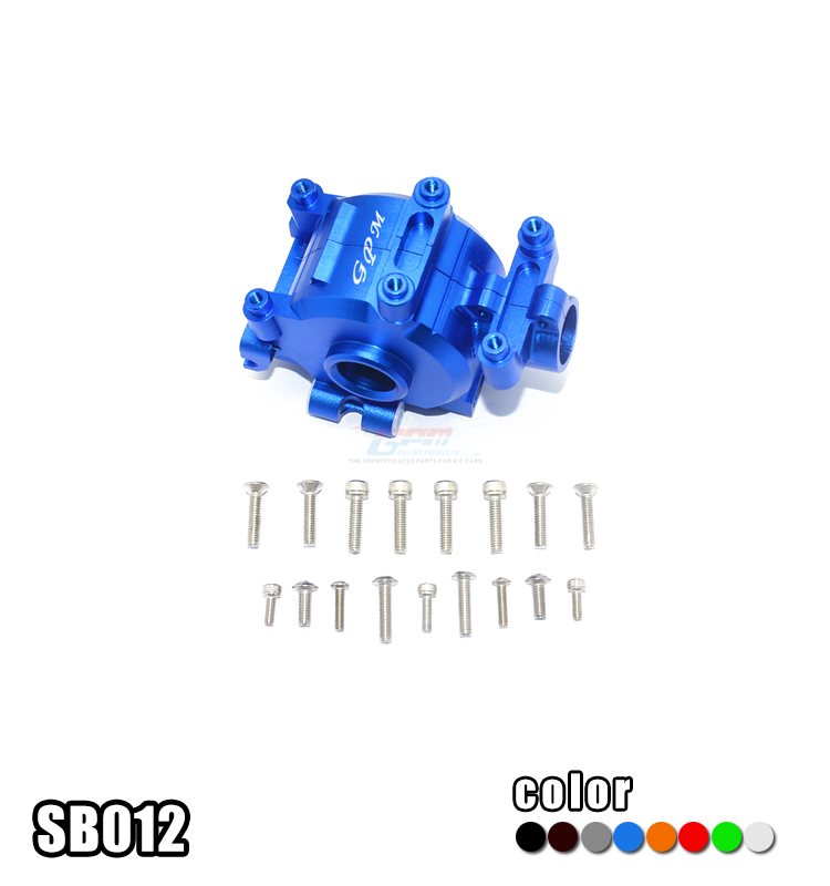 ALLOY FRONT GEAR BOX -SET-SB012 FOR 1/6 LOSI SUPER BAJA REY 4WD BRUSHLESS DESERT TRUCK RTR 9320977