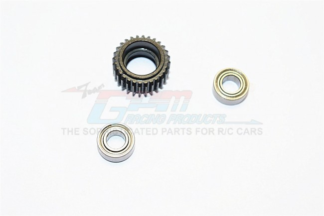 1/10 AXIAL SCX10 II STEEL TRANSMISSION MIDDLE GEAR - 1PC SET (FOR ALL WRAITH, SCX10, SCX10 II, SMT10 SERIES) - SCX27038MG