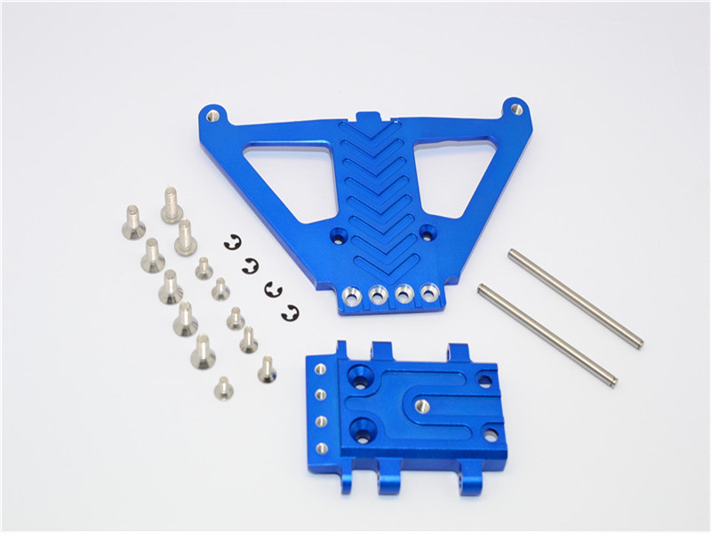 TRAXXAS SLASH 4X4 68086-21 ALLOY FRONT GEAR BOX PROTECTOR - 1PC SET SLA330LCG