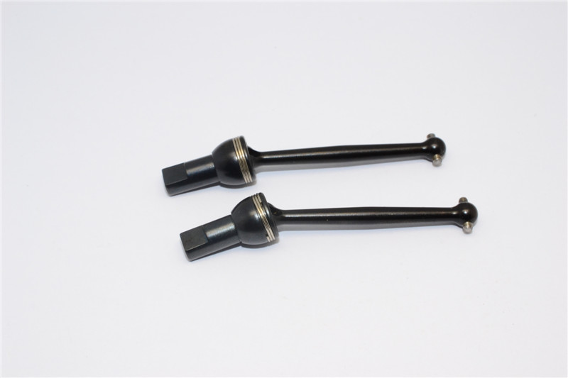 TRAXXAS 1/18 LATRAX SST STEEL #45 FRONT/REAR CVD SHAFT - PAIR
