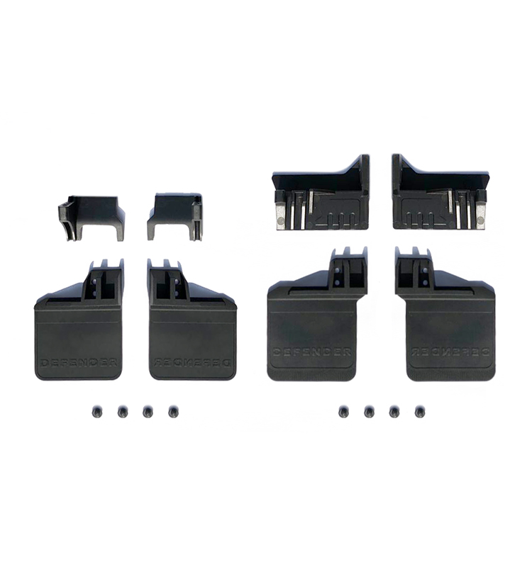 1/10 SCALE TRAXXAS TRX-4 POLYURETHANE FRONT / REAR SKID PLATE UPGRADE KIT -set TRX4ZSP16