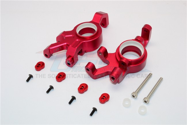 1/5 TRAXXAS X-MAXX ALLOY FRONT KNUCKLE ARMS WITH COLLARS - 2PCS/PAIR TXM021N