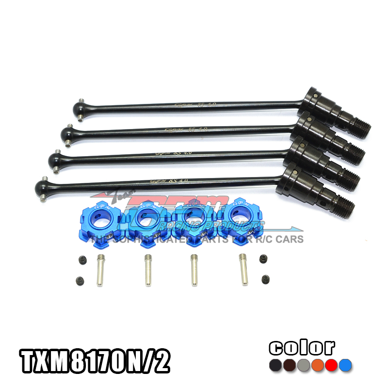 1/5 TRAXXAS X-MAXX TRAXXAS XMAXX 8S HARDEN STEEL #45 CVD FOR 8S FRONT OR REAR WITH ALLOY HEX-SET TXM8170N/2