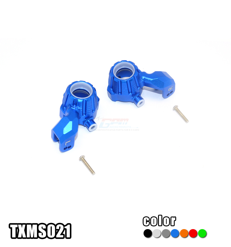 ALUMINUM FRONT KNUCKLE ARMS set TXMS021 FOR 1/10 TRAXXAS MAXX 4WD MONSTER TRUCK 89076-4