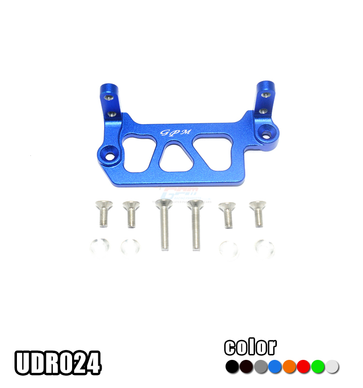 1/7 TRAXXAS UNLIMITED DESERT RACER PRO-SCALE 4X4-85076-4 ALLOY SERVO MOUNT - set UDR024