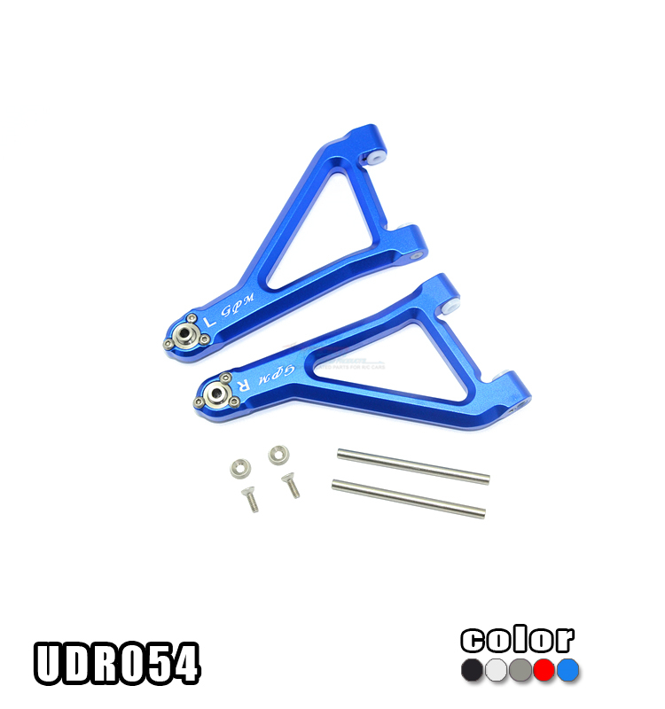 1/7 TRAXXAS UNLIMITED DESERT RACER PRO-SCALE 4X4-85076-4 ALLOY FRONT UPPER SUSPENSION ARM-SET UDR054