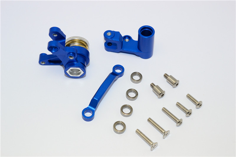 1/7 TRAXXAS XO-1 ALLOY STEERING ASSEMBLY SET WITH STAINLESS STEEL SCREWS XO048