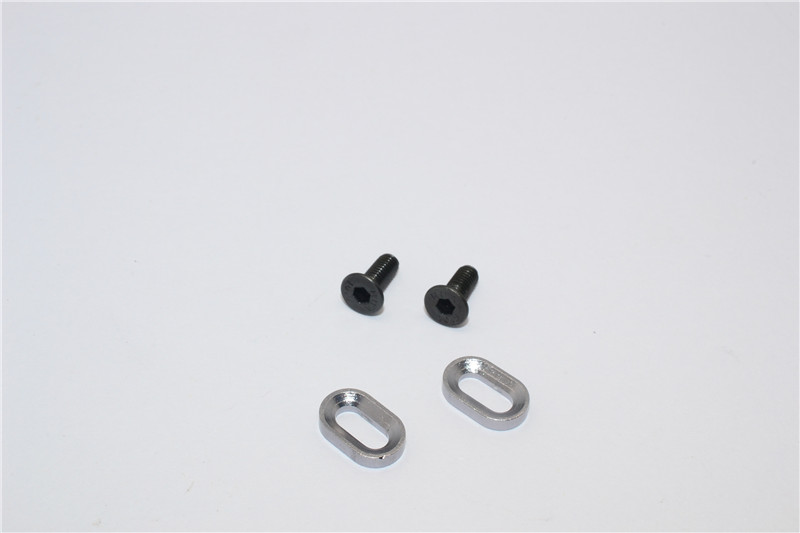 KYOSHO MOTOR CYCLE ALLOY OVAL WASHER FOR GEAR BOX - 2PCS - KM010