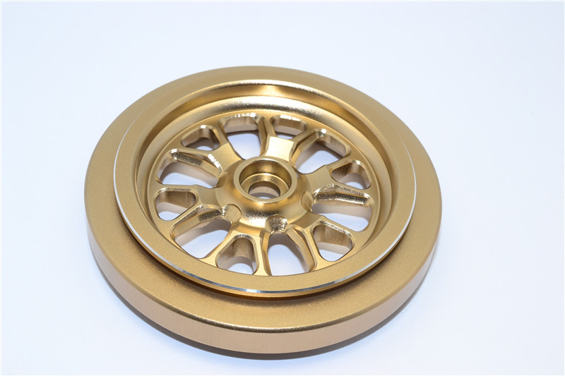 KYOSHO MOTOR CYCLE NSR500 ALLOY FRONT WHEEL -PC KM628/6F