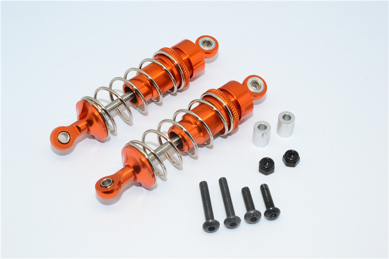 TEAM LOSI MINI 8IGHT ALLOY FRONT SHOCK ABSORBERS - PAIR M8368F