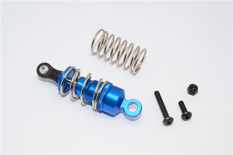 KYOSHO MOTOR CYCLE ALLOY DRIVE SHOCK WITH SCREW & ALLOY COLLARS