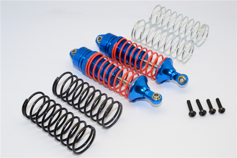 TRAXXAS SLASH 4X4 ALLOY FRONT ADJUSTABLE SPRING DAMPER WITH ALLOY BALL TOP & BALL ENDS
