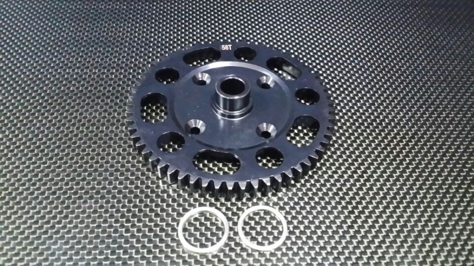 TEAM LOSI 5IVE-T STEEL #45 MAIN GEAR (58T) - 1PC SET - SLO5T058T