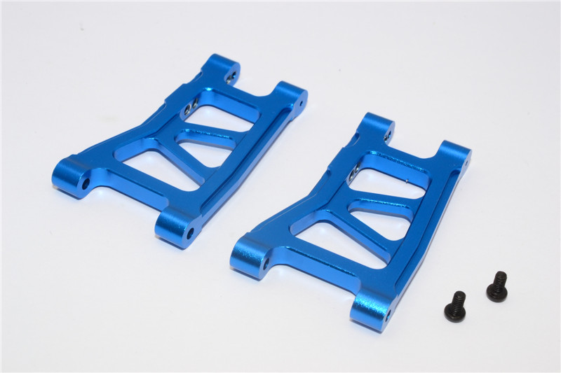 TRAXXAS 1/18 LATRAX RALLY ALLOY FRONT/REAR LOWER ARM - PAIR