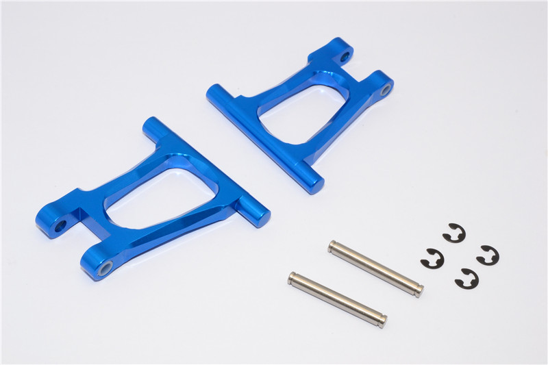 TAMIYA TT01/TT01D/TT01E ALLOY REAR UPPER ARM WITH SHIMS+COLLARS+E-CLIPS+PINS - SET TT057