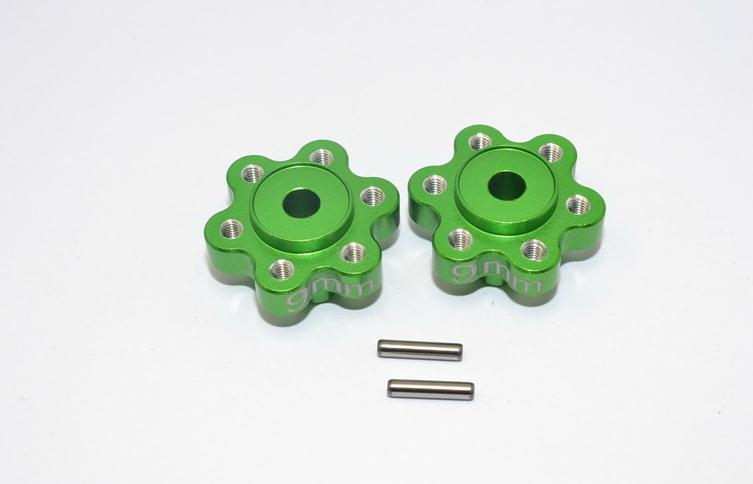 AXIAL YETI ALLOY 2.2 WHEEL HUBADAPTERS (9MM THICKNESS) - 1PAIR - YT009A